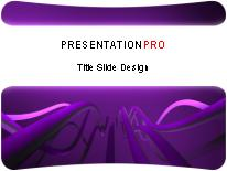 Download cable waves purple bar PowerPoint Template and other software plugins for Microsoft PowerPoint