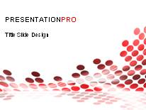 Download flowing circles red PowerPoint Template and other software plugins for Microsoft PowerPoint