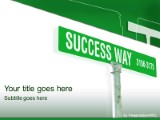 Download success way PowerPoint Template and other software plugins for Microsoft PowerPoint