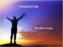 Download exulting the sunset PowerPoint Template and other software plugins for Microsoft PowerPoint