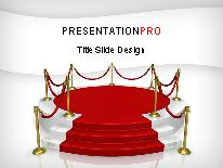 in the spotlight powerpoint template background in business, Modern powerpoint