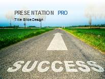 Road to success powerpoint template background in business road to success ppt powerpoint template background toneelgroepblik Image collections