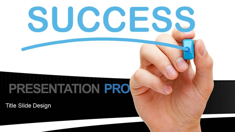 Success on white board black widescreen powerpoint template presentationpro powerpoint products and services toneelgroepblik Images
