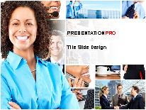 Business - People PPT presentation template