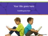 Reading buddies powerpoint template background in education and download reading buddies powerpoint template and other software plugins for microsoft powerpoint toneelgroepblik Images