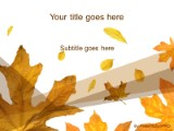 Autumn leaves powerpoint template background in environmental download autumn leaves powerpoint template and other software plugins for microsoft powerpoint toneelgroepblik Gallery