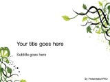 Organic vine powerpoint template background in environmental download organic vine powerpoint template and other software plugins for microsoft powerpoint toneelgroepblik Image collections