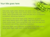Download peas in a pod PowerPoint Template and other software plugins for Microsoft PowerPoint