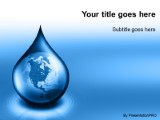 Waterdrop globe blue powerpoint template background in global download waterdrop globe blue powerpoint template and other software plugins for microsoft powerpoint toneelgroepblik Images