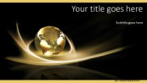 global swirls b widescreen powerpoint template background in, Powerpoint templates