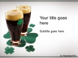 Irish beer powerpoint template background in holiday and special download irish beer powerpoint template and other software plugins for microsoft powerpoint toneelgroepblik Choice Image