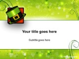 Download leprechaun hat PowerPoint Template and other software plugins for Microsoft PowerPoint