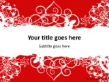 Valentine abstract red powerpoint template background in holiday and download valentine abstract red powerpoint template and other software plugins for microsoft powerpoint toneelgroepblik Images