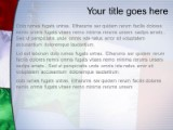 italy powerpoint template background in flags - international, Modern powerpoint