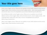 Orthodontic braces powerpoint template background in medical orthodontic braces ppt powerpoint template background toneelgroepblik Image collections