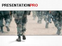 Military PPT presentation template