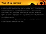 african landscape powerpoint template background in nature, Modern powerpoint