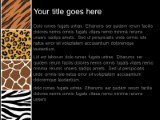 Animal prints powerpoint template background in nature powerpoint download animal prints powerpoint template and other software plugins for microsoft powerpoint toneelgroepblik Gallery