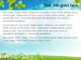 Nature Landscape PowerPoint template background in Nature PowerPoint ...