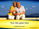 Elderly couple vacationing powerpoint template background in download elderly couple vacationing powerpoint template and other software plugins for microsoft powerpoint toneelgroepblik Image collections