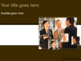 Download networking brown PowerPoint Template and other software plugins for Microsoft PowerPoint