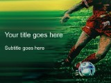 soccer powerpoint template background in sports and leisure, Powerpoint templates