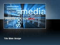 Technology - Computers PPT presentation powerpoint template