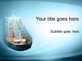 Cargo ship powerpoint template background in environmental download cargo ship powerpoint template and other software plugins for microsoft powerpoint toneelgroepblik Image collections