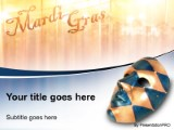 mardi gras mask powerpoint template background in us cities and, Powerpoint templates