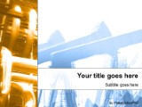 pipes powerpoint template background in utilities industrial