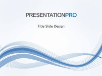 abstract wave flow powerpoint template background in powerpoint, Powerpoint templates