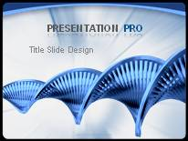 dna abstract powerpoint template background in powerpoint, Powerpoint