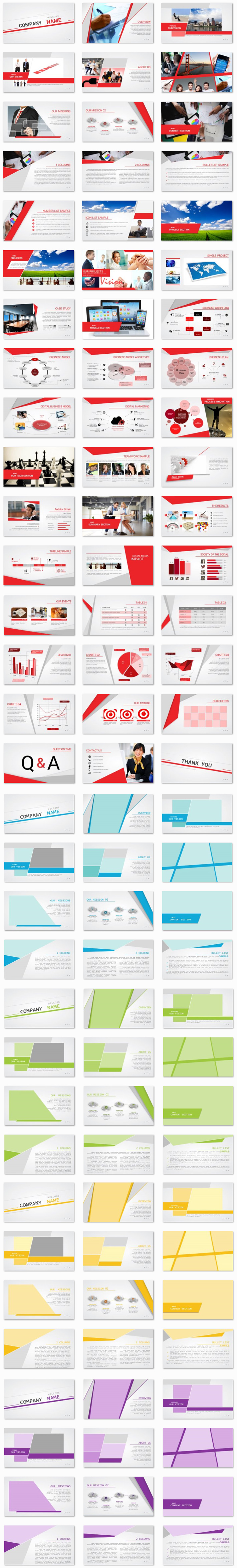 NEW Power Presentation: Business Angles PPT Premium PowerPoint Presentation Template Slide Set