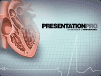 heart powerpoint template background in medical  healthcare, Powerpoint