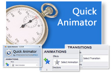 Quick Animator saves you time in PowerPoint.