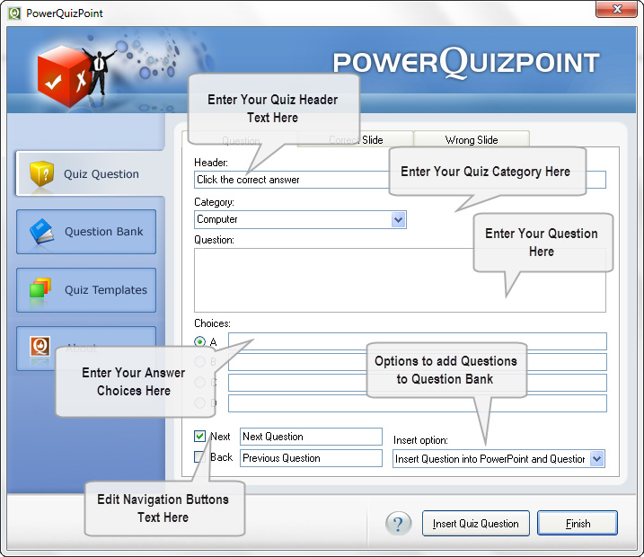 PowerQuizPoint screenshot 1