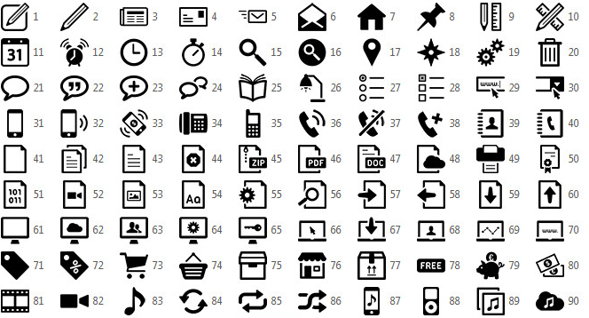 Introducing Vicons Fully Editable Vector Icons For