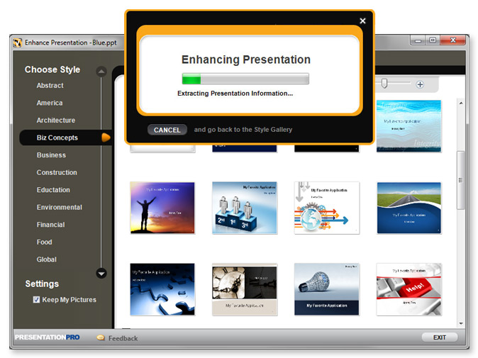 presentationpro powerpoint plugin VisualBee