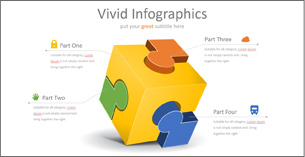 Presentation InfoGraphics: over 650 Fully editable vector info graphics for PowerPoint.